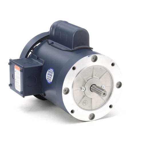 110058.00 Leeson |  1 hp 1800 RPM 56C Frame TEFC C-Face (no base) 115/208-230V