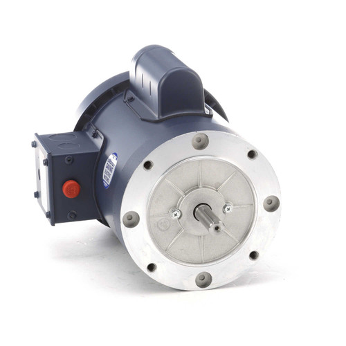 110041.00 Leeson |  1 hp 1800 RPM 56C Frame TEFC C-Face (no base) 115/208-230V