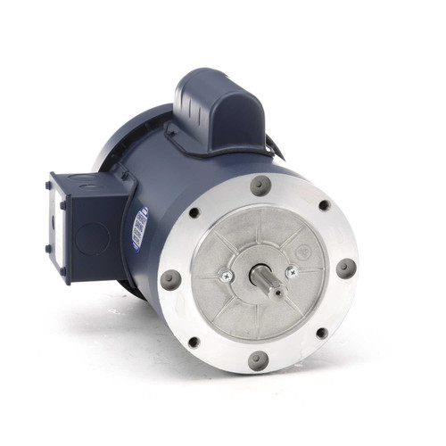 110419.00 Leeson |  1.5 hp 3600 RPM 56C Frame TEFC C-Face (no base) 115/208-230V