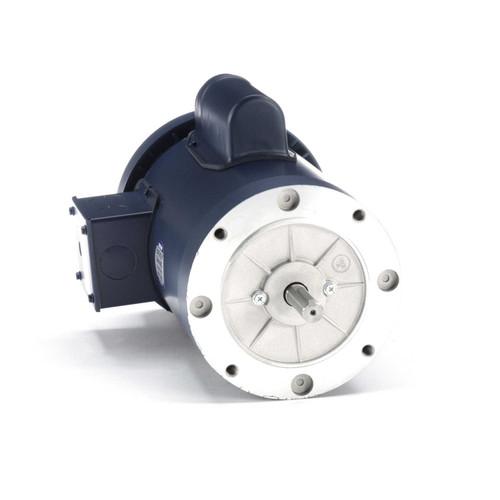 110422.00 Leeson |  2 hp 3600 RPM 56C Frame TEFC C-Face (no base) 115/208-230V