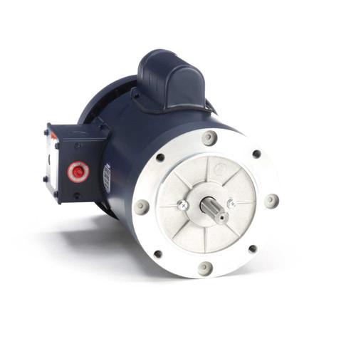 110421.00 Leeson |  2 hp 3600 RPM 56C Frame TEFC C-Face (no base) 115/208-230V