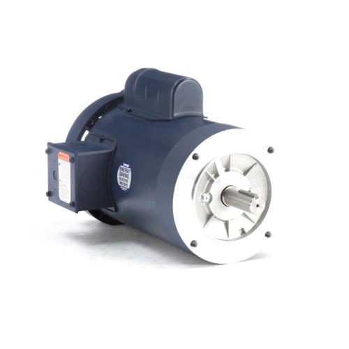120102.00 Leeson    2 hp 3600 RPM 145TC Frame TEFC C-Face (no base) 115/208-230V