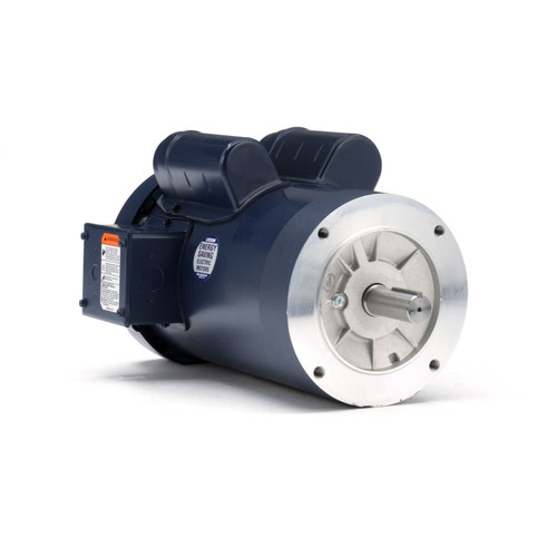 120824.00 Leeson |  3 hp 3600 RPM 145TC Frame TEFC C-Face (no base) 230V