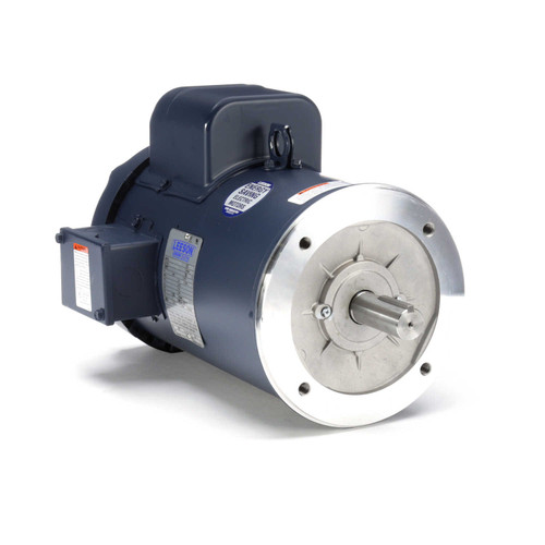 131778.00 Leeson |  5 hp 3600 RPM 184TC Frame TEFC C-Face (no base) 230V