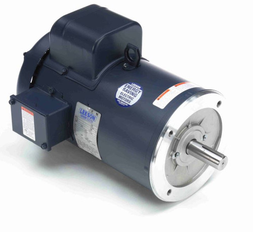 131540.00 Leeson |  5 hp 1800 RPM 184TC Frame TEFC C-Face (no base) 230V