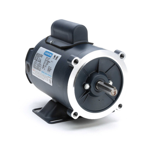 102910.00 Leeson |  1/3 hp 1800 RPM 56C Frame TENV C-Face- Rigid Base 115/208-230V