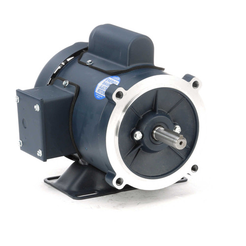102903.00 Leeson |  1/2 hp 3600 RPM 56C Frame TEFC C-Face- Rigid Base 115/208-230V