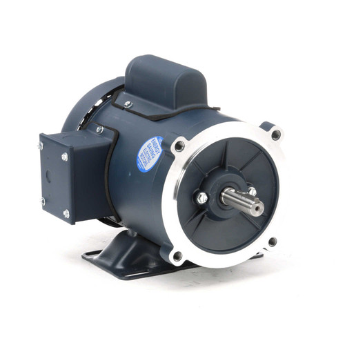 102907.00 Leeson |  1/2 hp 1800 RPM 56C Frame TEFC C-Face- Rigid Base 115/208-230V