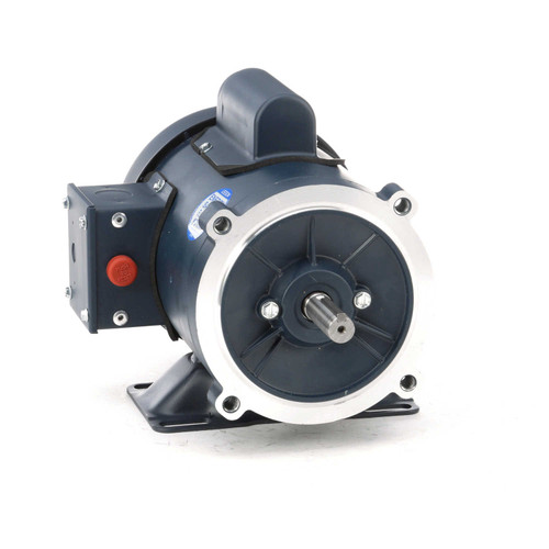 103085.00 Leeson |  1/2 hp 1800 RPM 56C Frame TEFC C-Face- Rigid Base 115/208-230V