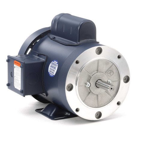 112135.00 Leeson |  3/4 hp 3600 RPM 56C Frame TEFC C-Face- Rigid Base 115/208-230V