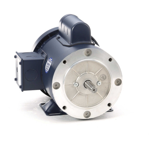 110905.00 Leeson |  3/4 hp 1800 RPM 56C Frame TEFC C-Face- Rigid Base 115/208-230V