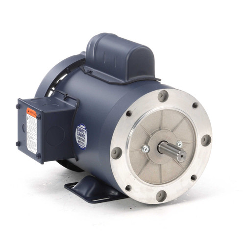 110180.00 Leeson |  1 hp 3600 RPM 56C Frame TEFC C-Face- Rigid Base 115/208-230V