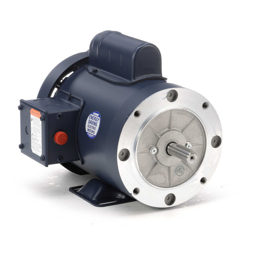 115879.00 Leeson |  1 hp 1800 RPM 56C Frame TEFC C-Face- Rigid Base 115/208-230V