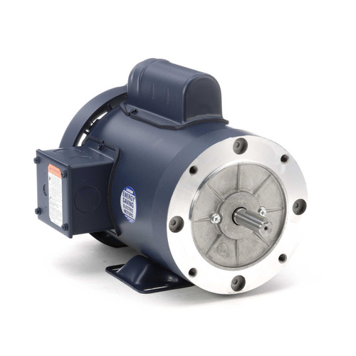 110909.00 Leeson |  1.5 hp 3600 RPM 56C Frame TEFC C-Face- Rigid Base 115/208-230V
