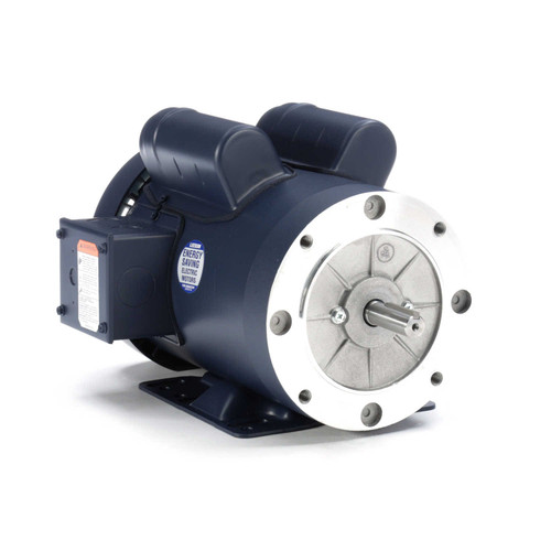 110910.00 Leeson |  1.5 hp 1800 RPM 56HC Frame TEFC C-Face- Rigid Base 115/208-230V
