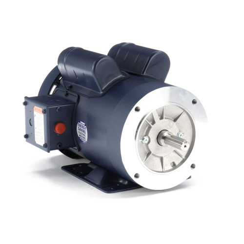 116703.00 Leeson |  1.5 hp 1725 RPM 56C Frame TEFC C-Face- Rigid Base 115/208-230 Volts