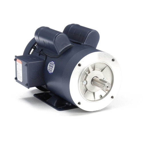121681.00 Leeson |  1.5 hp 1800 RPM 145TC Frame TEFC C-Face- Rigid Base 115/208-230V
