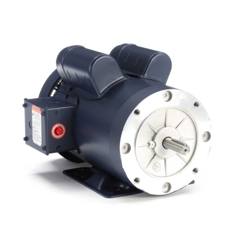 114995.00 Leeson |  2 hp 3600 RPM 56HC Frame TEFC C-Face- Rigid Base 115/230V