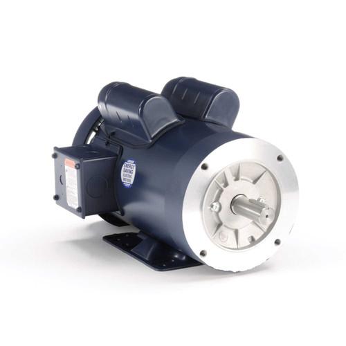 120274.00 Leeson |  2 hp 1800 RPM 145TC Frame TEFC C-Face- Rigid Base 115/230V