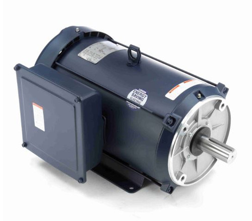 140694.00 Leeson |  7.5 hp 3600 RPM 213TC Frame TEFC C-Face- Rigid Base 208-230V
