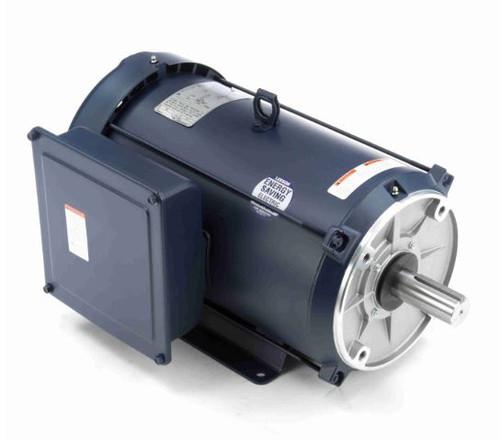 141429.00 Leeson |  7.5 hp 1800 RPM 215TC Frame TEFC C-Face- Rigid Base 230V