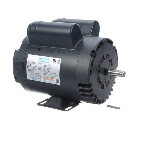 113630.00 Leeson |  1 hp 1725 RPM 56 Frame 115/208-230 Volts Open Drip