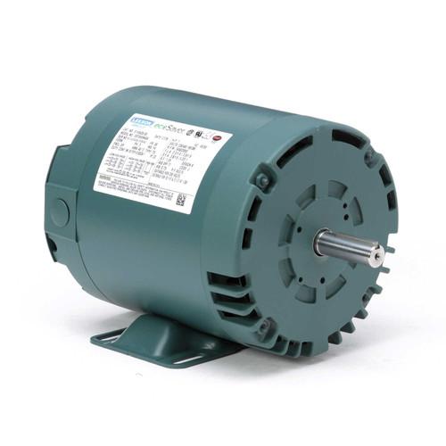 1 hp 3450 RPM 56 Frame 230/460V Open Drip Leeson Electric Motor # E110426
