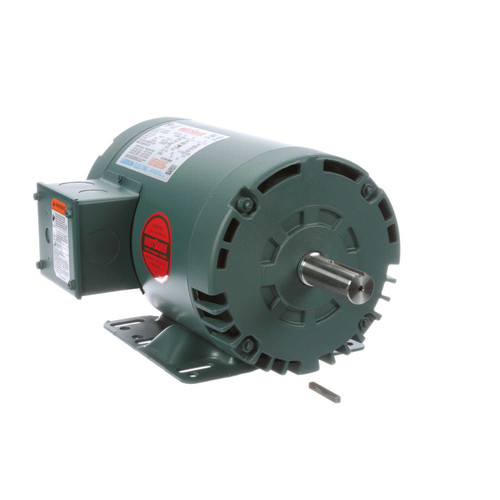 121514.00 Leeson |  1.5 hp 3450 RPM 143T Frame 208-230/460 Volts Open Drip