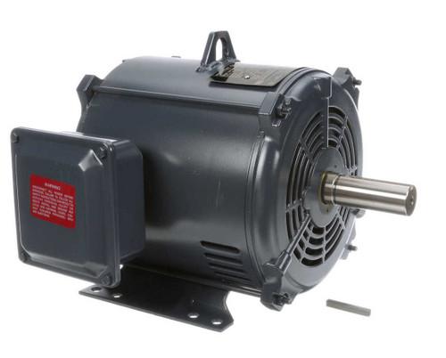 1.5 hp 1200 RPM 182T Frame 230/460V Open Drip Marathon Electric Motor # GT0005A