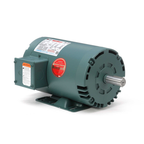 121515.00 Leeson |  2 hp 3450 RPM 145T Frame 230/460 Volts Open Drip