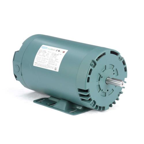 E116756.00 Leeson |  2 hp 1725 RPM 56H Frame 230/460 Volts Open Drip