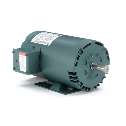 E115826.00 Leeson |  2 hp 1725 RPM 56HZ (143T) Frame 230/460 Volts Open Drip