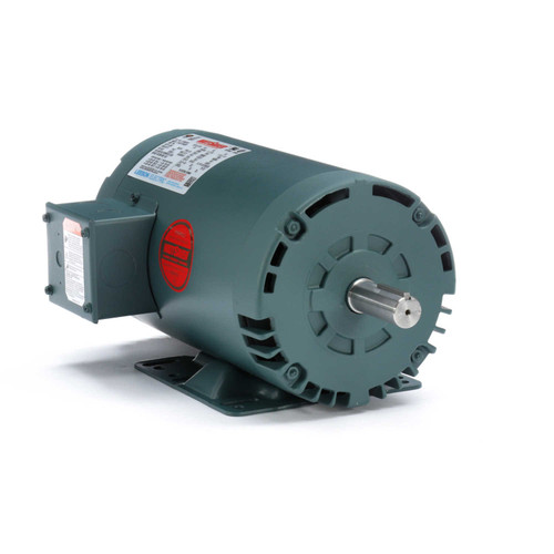 121005.00 Leeson |  2hp 1725 RPM 145T Frame 208-230/460 Volts Open Drip