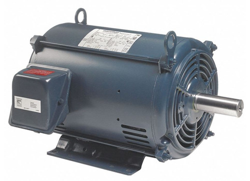2 hp 1200 RPM 184T Frame 230/460V Open Drip Marathon Electric Motor # GT0008A