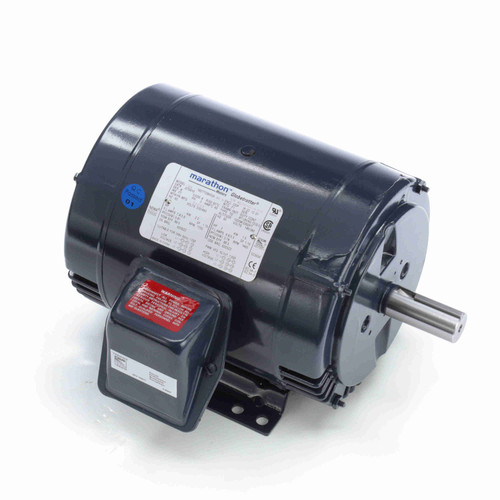 GT0010A Marathon 3 hp 1800 RPM 182T Frame 230/460V Open Drip Marathon Electric Motor
