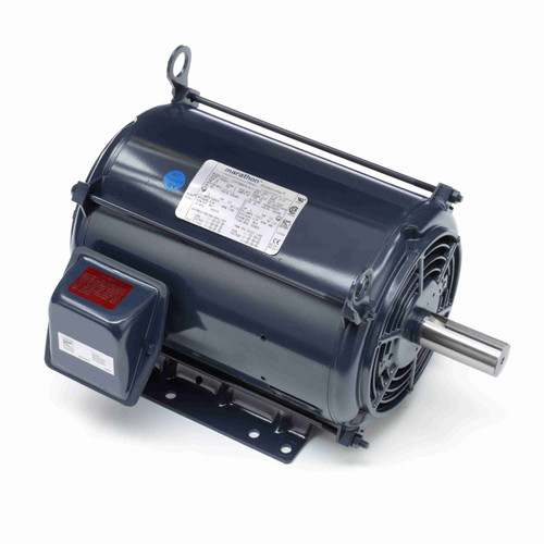 GT0011A Marathon 3 hp 1200 RPM 213T Frame 230/460V Open Drip Marathon Electric Motor