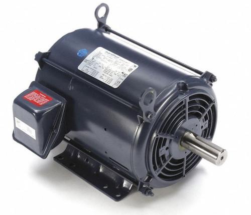 7.5 hp 3600 RPM 184T Frame 230/460V Open Drip Marathon Electric Motor # GT0015A