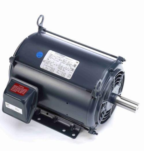 10 hp 1200 RPM 256T Frame 230/460V Open Drip Marathon Electric Motor # GT0058