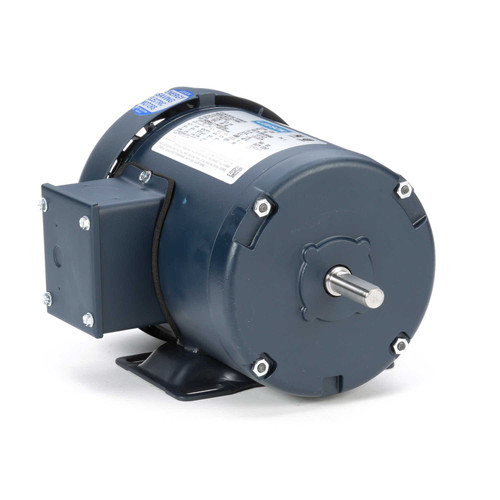 101646.00 Leeson |  1/4 hp 1725 RPM 48 Frame 208-230/460 Volts TEFC