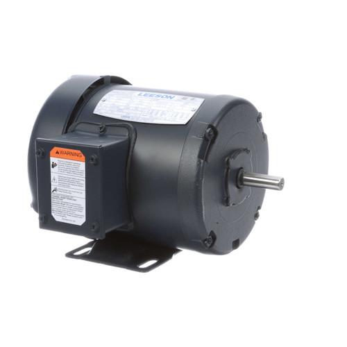 102684.00 Leeson |  1/3 hp 3450 RPM 48 Frame 208-230/460 Volts TEFC