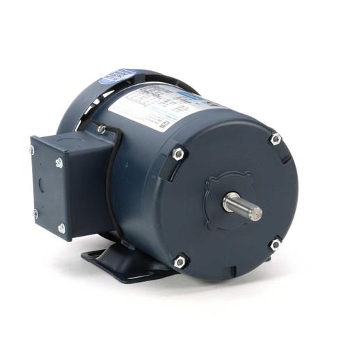 1/3 hp 1725 RPM 48 Frame 208-230/460V TEFC Leeson Electric Motor # 101647