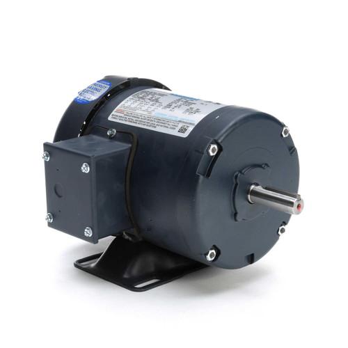 1/3 hp 1725 RPM 56 Frame 208-230/460V TEFC Leeson Electric Motor # 101079