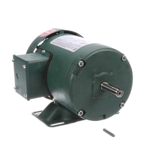 1/3 hp 1725 RPM 56 Frame 208-230/460V TEFC Leeson Electric Motor # 103019