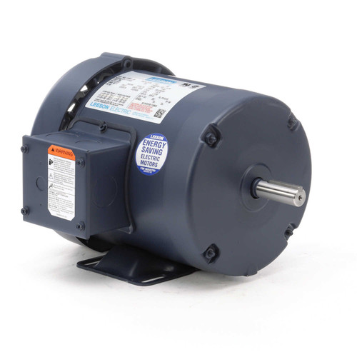 110441.00 Leeson |  1/3 hp 1140 RPM 56 Frame 208-230/460 Volts TEFC