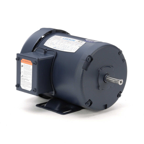 100905.00 Leeson |  1/2 hp 3450 RPM 48 Frame 208-230/460 Volts TEFC