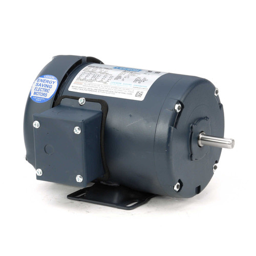 100961.00 Leeson |  1/2 hp 1725 RPM 48 Frame 208-230/460 Volts TEFC