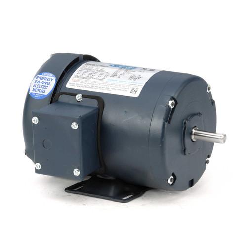 1/2 hp 1725 RPM 48 Frame 208-230/460V TEFC Leeson Electric Motor # 100961