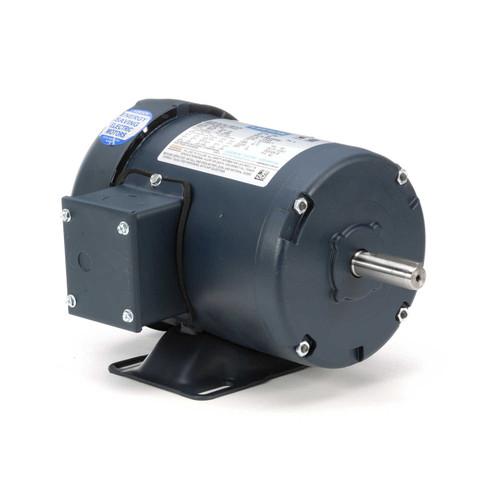 1/2 hp 1725 RPM 56 Frame 208-230/460V TEFC Leeson Electric Motor # 100913