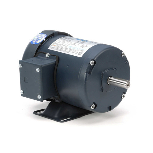 100913.00 Leeson |  1/2 hp 1725 RPM 56 Frame 208-230/460 Volts TEFC