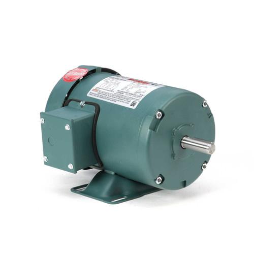 1/2 hp 1725 RPM 56 Frame 208-230/460V TEFC Leeson Electric Motor # 103020